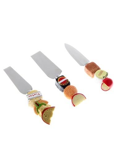 3'Lü Peynir Bıçak Seti-Kanca Ev